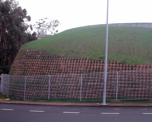 Muro de Geoceldas 1