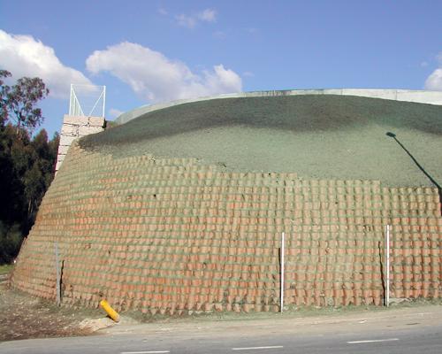 Muro de Geoceldas 2